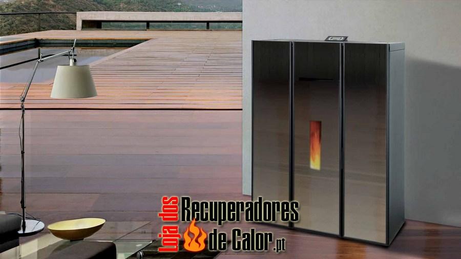 Salamandra aquecimento central compact glass 18kw